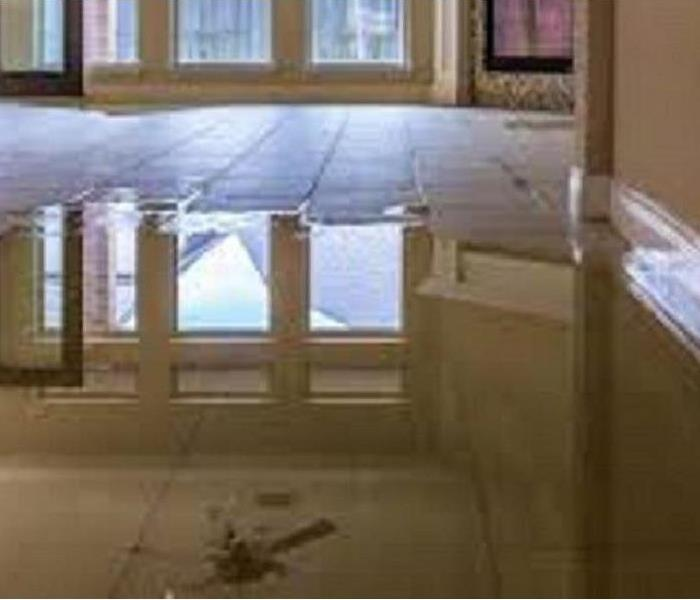 Water damage flooring